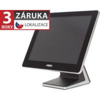 """AerPOS PP-9635BV, 15"""" LCD LED 350, 4GB RAM, bez rámečku, černý"""
