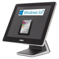 AerPOS PP-9635BV, 4GB, 120GB SSD, Win 10 IoT, bez rámečku, černý