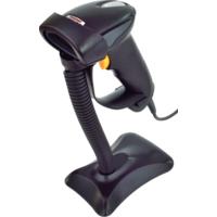 CCD čtečka Virtuos HT-310A, dlouhý dosah, USB, stojánek, černá
