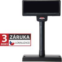 VFD zákaznický displej Virtuos FV-2029M 2x20 9mm, serial, černý