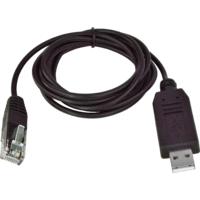 Datový kabel RJ45 - USB pro USB LCD displej, 1,5 m, černý