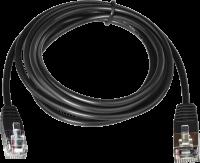 Kabel RJ12 24V pro pokl. zásuvku a tiskárnu, 1,1 m, černý