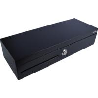 Pokladní zásuvka flip-top FT-460V1 bez kabelu, bez zam. krytu, černá