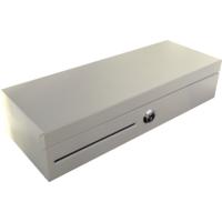 Pokladní zásuvka flip-top FT-460V4 - bez kabelu, se zam. krytem, bílá