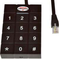 RFID 125 kHz adaptér s klávesnicí pro pokladní zásuvky Virtuos 24V