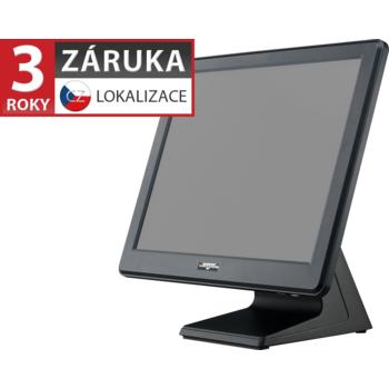 """AerPOS PP-9635AV, 15"""" LCD LED 350, 4GB RAM, rámeček, černý  - 1"""