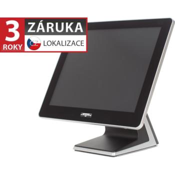 """AerPOS PP-9635BV, 15"""" LCD LED 350, 4GB RAM, bez rámečku, černý  - 1"""