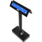 Oboustranný LCD zákaz. displej Virtuos FL-730MB 2x20, serial, černý - 1/6