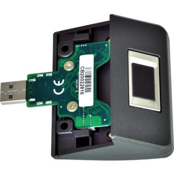 Čtečka otisků prstů pro XPOS, USB, šedá