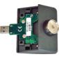 Čtečka iButtonů pro XPOS + 5 klíčů, USB (emulace RS232), šedá - 1/2