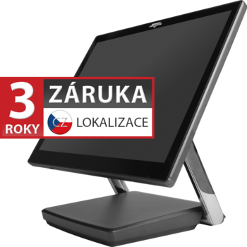 "XPOS XP-3682W, 22"" LCD 250, i3-7100U, 4GB RAM, 120GB M.2, kapacitní  - 1"