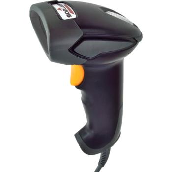 CCD čtečka Virtuos HT-310A, dlouhý dosah, USB, stojánek, černá  - 2