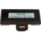 LCD zákaznický displej Virtuos FL-2024MW 2x20, serial, 12V, černý - 2/2