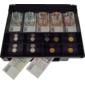 Plastový pořadač na peníze pro C410/C420/C430, kovové držáky bankovek - 2/3