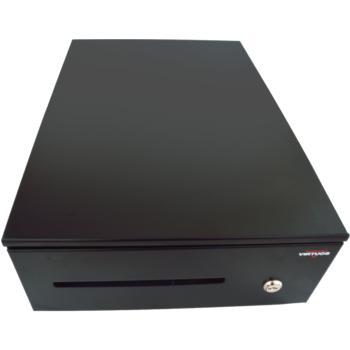 Pokladní zásuvka SK-325C - s kabelem, pořadač 6/8, 9-24V, černá  - 2