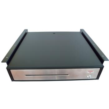 Držáky pro zavěšení pokladní zásuvky C420/C425/C430/S-410, černé  - 3