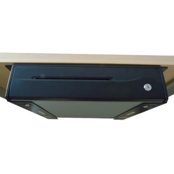 Držáky pro zavěšení pokladní zásuvky C420/C425/C430/S-410, černé  - 4