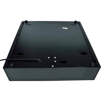 Pokladní zásuvka S-410 - s kabelem, pořadač 4/8, 24V, matná černá  - 5
