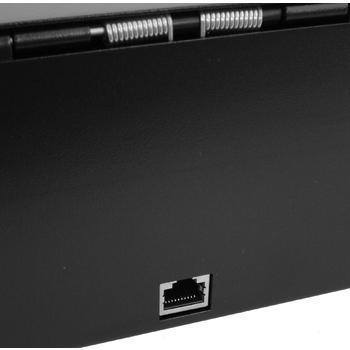 Flip-top FT-460C - s kabelem, se zamykacím krytem, černá  - 6