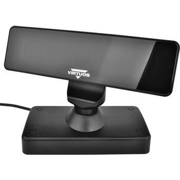 VFD zákaznický displej Virtuos FV-2030B 2x20 9mm, USB, černý  - 6