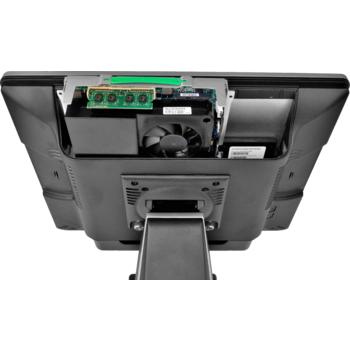 """AerPOS PP-9617BV, 17"""", 4GB, 120GB SSD, Win 10 IoT, bez rámečku, černý  - 7"""
